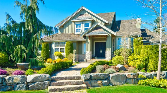 Home landscape, construction, maintenance