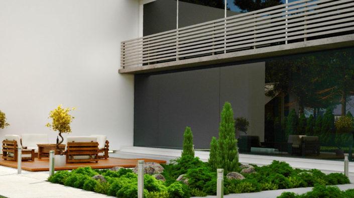 Property landscape, construction, maintenance